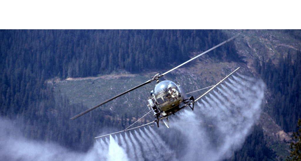 Forestry Herbicide Spraying