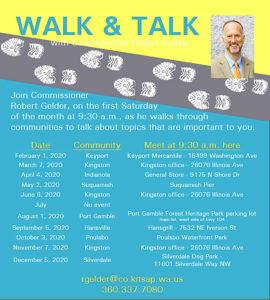 Gelder walk'n'talk schedule